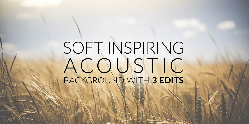Soft Inspiring Acoustic - 1