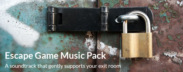 Title of Escape Game Exit Room Music Pack