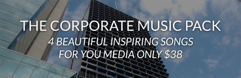 Corporate Music Pack Header Image