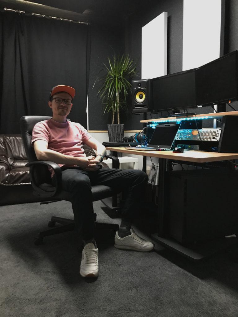 Jan in the Studio