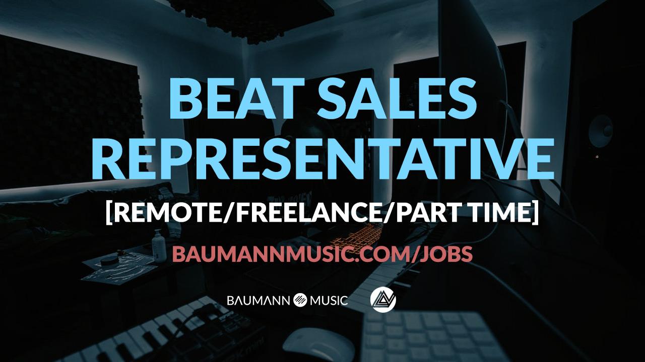 Beat Sales Music Job NYC